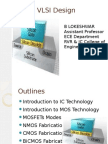 Introduction to IC Technology IV ECE -26the June