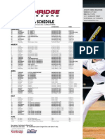 2013 csun baseball schedule