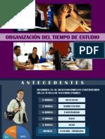 003 Presentación ORGANIZACION DEL TIEMPO DE ESTUDIO