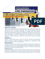 Modulo i. Diplomado en Desarrollo Organizacional Ok