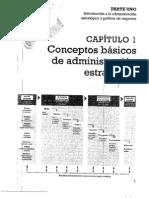 Wheelen, T. Capítulo 1. Conceptos básicos de administración estratégica