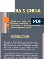 SeErvice Sector India Nd China