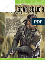 Metal Gears Solid 3 Guia