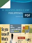 It Training Boot Camp Philippines