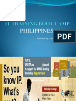 It Training Boot Camp Philippines