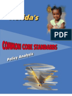 Florida's Common Core Standards Policy Analysis