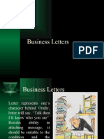 Business Letters 3