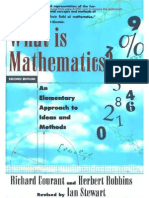 Courant R Robbins H Stewart I What is Mathematics 2ed Oxford 1996