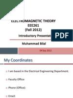 Introduction EMT 06 Sep2011