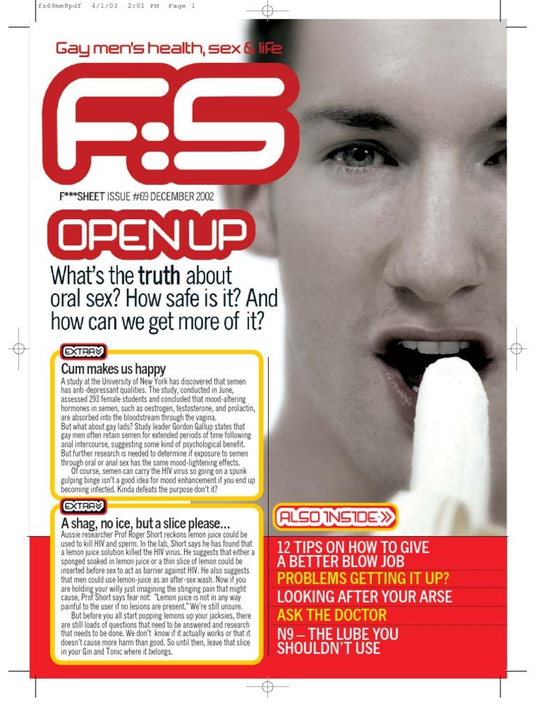 sex oral pass Aids through