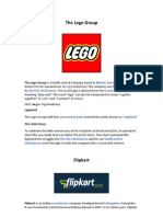 The Lego Group-Flipkart