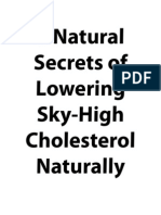 5 Natural Secrets of Lowering Sky-High Cholesterol Naturally_final