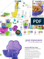 158466014 Tupperware Mid August 2013 Brochure CA English