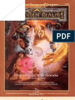 AD&D - Forgotten Realms - Empires of the Sands