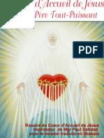 Coeur Daccueil de Jesus Don Du Pere Tout Puissant