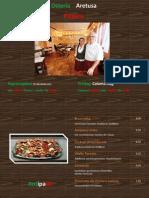 Osteria Aretusa Speisekarte Copy