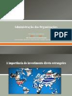 administração nas organizaçães