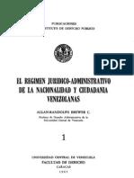 II.1.3. Reg. Jur.adm. Nac. Ciud. (1965)