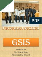 Presentation GSIS