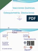 Estequiometria y Disoluciones