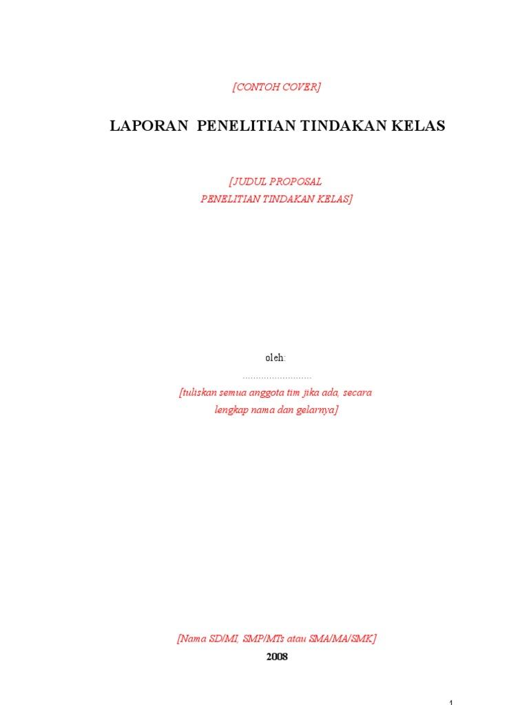 Format Laporan Ptk