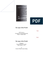The Ages of the World Fragment From the Handwritten Remains Third Vers.ebooKOID