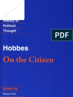 Hobbes on the Citizen Cambridge Texts in the History of Political Thou.ebooKOID