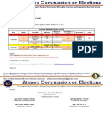 Memo 201316 - Results of Reelections for Blocks A1, Q and R2