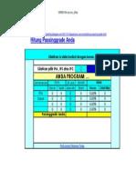 CARA Menghitung Passinggrade Snmptn 2012