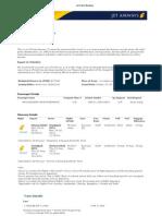 Jet Online Booking