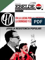 El Rebelde - Año 44 - Número 55  - Agosto de 2013.