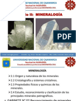 Cap II Mineralogia UNC