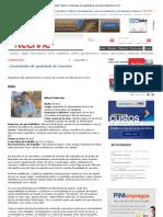 Revista Téchne _Controlador de qualidade de concreto_ Engenharia Civil