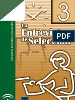 FOLLETO LA ENTREVISTA DE SELECCIÓN