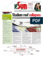 thesun 2009-06-03 page01 stadium roof collapses