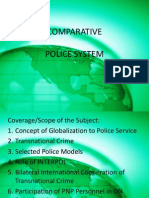 Comparative Policing System
