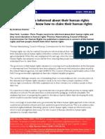 Human Rights EU Thomas Hammarberg