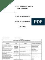 Plan de Estudio 31