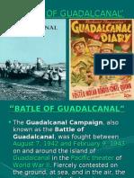 Guadalcanal Presentation