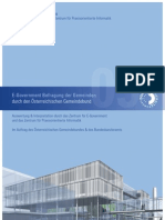 E-Government Gemeindeumfrage 2008