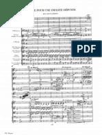 Ravel Pavane Pour Une Infante Dfunte Orchestral Score
