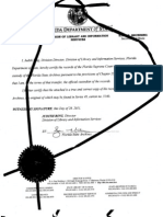 Certified Signed FL Mtg Banker Admit Notes Destroyed-margin Highlights