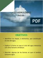 Clase 14 Ciclo Del Agua