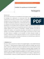 Jornadas de Sociologia UNLP Lorena Paz
