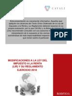 Presentación_100212 BVL-CAVALI Impuesto a las Ganancias de Capital