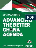 NDC 2012 Manifesto 0