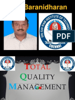 TQM - CUSTOMER SATISFACTION - FINAL YEAR ECE - SRI SAIRAM INSTITUTE OF TECHNOLOGY - DR.K.BARANIDHARAN