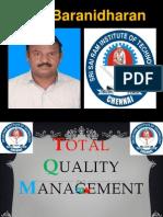 TQM - CUSTOMER CUSTOMER COMPLAINT/FEEDBACK - FINAL YEAR ECE - SRI SAIRAM INSTITUTE OF TECHNOLOGY - DR.K.BARANIDHARAN