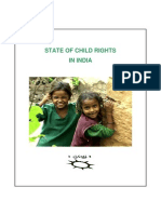State of Child Rights in India