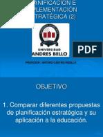 PLANIFICACIÓN E IMPLEMENTACIÓN ESTRATÉGICA (2)